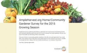 Gardener Survey