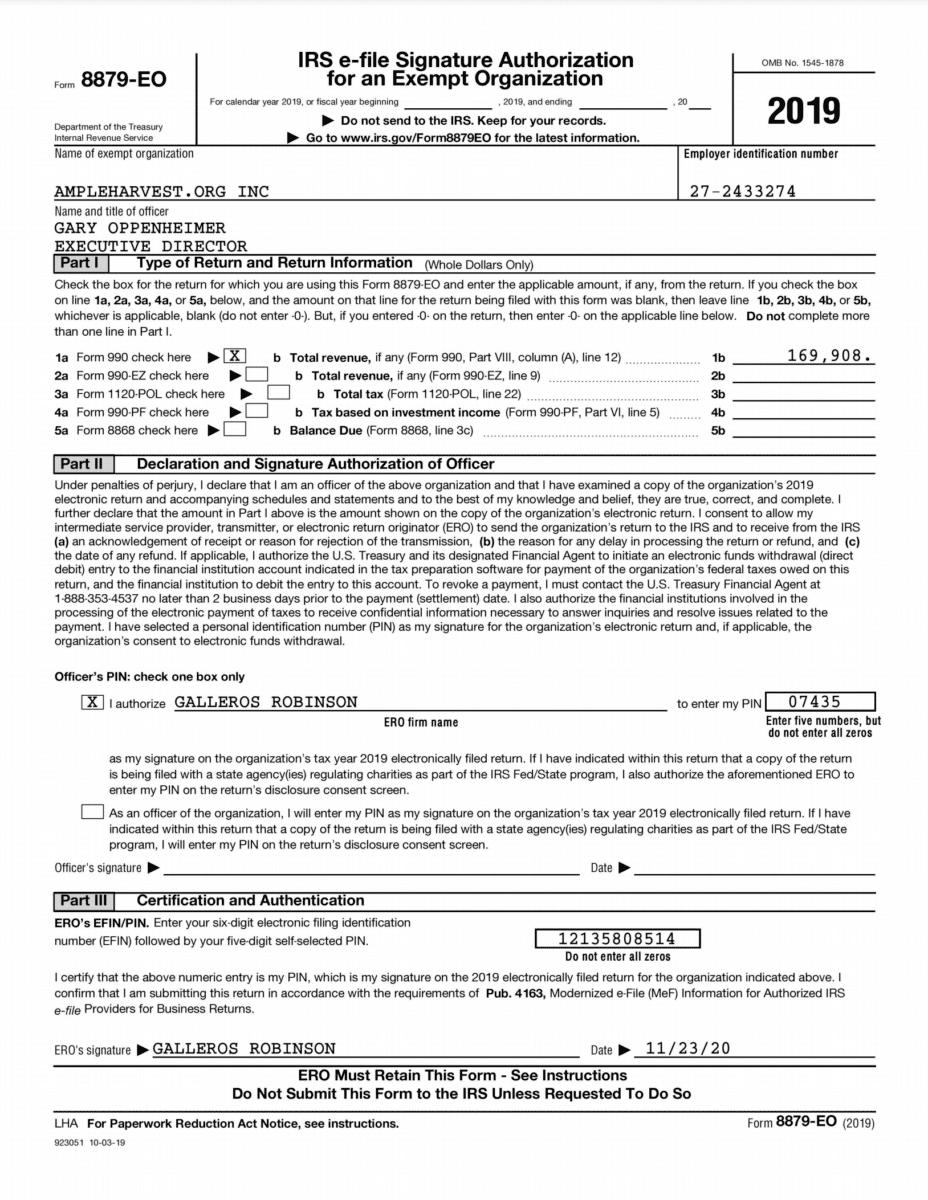 IRS 990